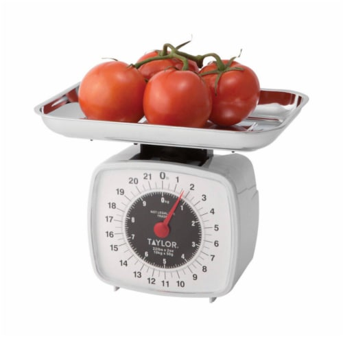 Taylor Mechanical Food Scale Perspective: front