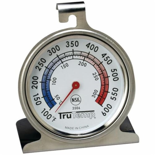 Taylor Precision 3506 Oven Dial Thermometer Perspective: front