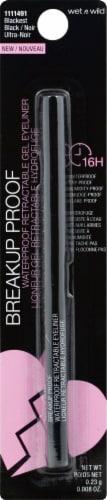 Wet n Wild 1111491 Blackest Black Waterproof Retractable Eyeliner Perspective: front