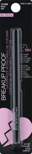 Wet n Wild 1111492 Black Waterproof Retractable Eyeliner Perspective: front