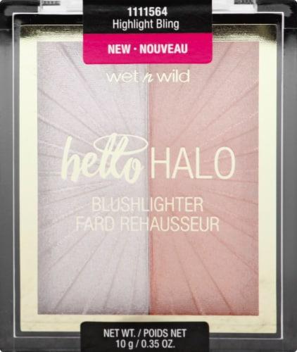 Wet n Wild Mega Glo Highlight Bling Blushlighter Perspective: front