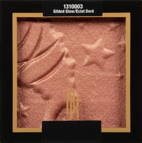 Black Radiance Color Perfect Gilded Glow Bronze Highlighting Powder Perspective: front
