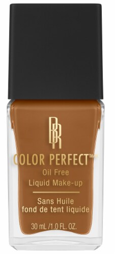 Black Radiance Color Perfect Chocolate Truffle Liquid Foundation Perspective: front