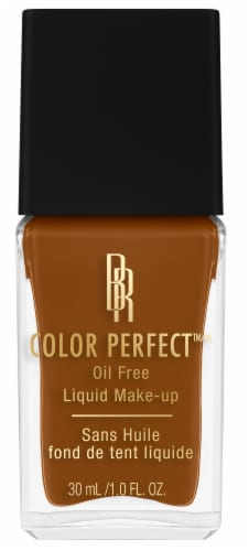 Black Radiance Color Perfect Deep Amber Liquid Make-Up Perspective: front