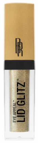 Black Radiance Eye Appeal Lid Glitz Hollywood Gold Pearl Eyeshadow Perspective: front