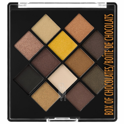 Black Radiance Eye Appeal Box of Chocolates Eye Shadow Palette Perspective: front
