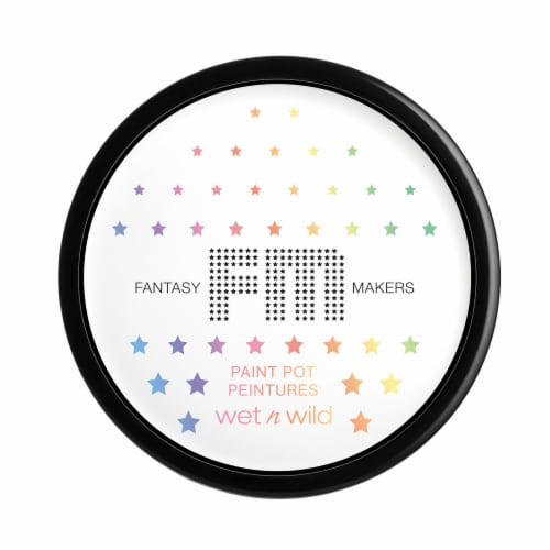 Wet n Wild Fantasy Makers White Paint Pot Perspective: front