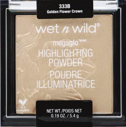 Wet n Wild 333B Golden Flower Crown Highlighting Powder Perspective: front