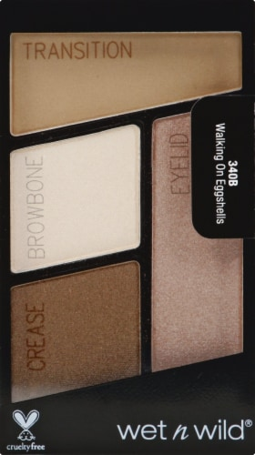 Markwins Color Icon Walking On Eggshells Quad Eyeshadow Perspective: front