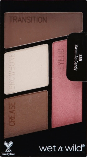 Markwins Color Icon Sweet As Candy Quad Eyeshadow Perspective: front
