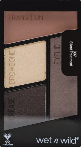 Wet n Wild Color Icon Silent Treatment Eyeshadow Palette Perspective: front