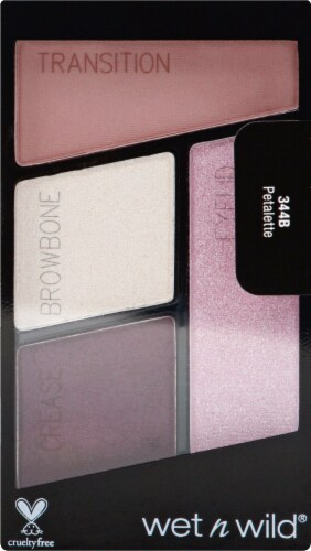 Wet n Wild Color Icon 344B Petalette Eyeshadow Palette Perspective: front