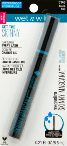 Wet n Wild Megaslim Waterproof Skinny C146 Black Mascara Perspective: front