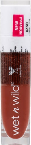 Wet n Wild MegaLast Catsuit Hi-Shine Cedar Later Liquid Lipstick Perspective: front