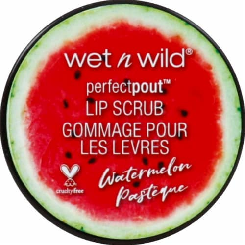 Wet n Wild Perfect Pout Watermelon Lip Scrub Perspective: front