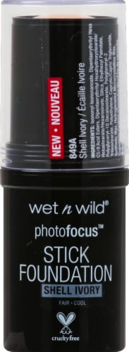 Wet n Wild Photo Focus Shell Ivory Stick Foundation Perspective: front
