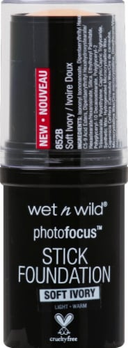 Wet n Wild Photo Focus Soft Ivory Stick Foundation Perspective: front