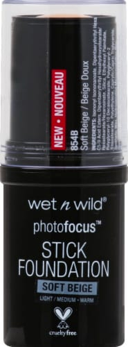 Wet n Wild Photo Focus Soft Beige Stick Foundation Perspective: front