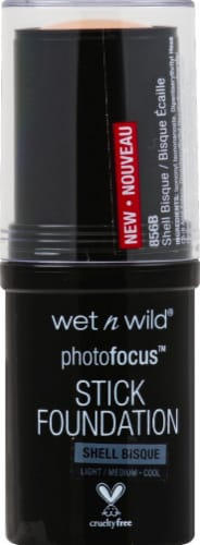 Wet n Wild Photo Focus Shell Bisque Stick Foundation Perspective: front