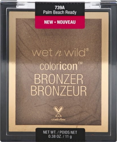 Wet n Wild Color Icon Palm Beach Ready Bronzer Perspective: front