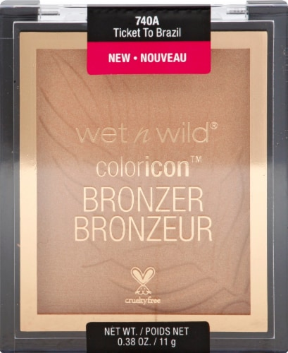 Wet n Wild Color Icon Ticket To Brazil Bronzer Perspective: front