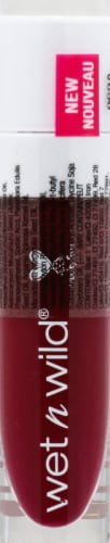 Wet n Wild MegaLast Catsuit Hi-Shine Wine is the Answer Liquid Lipstick Perspective: front