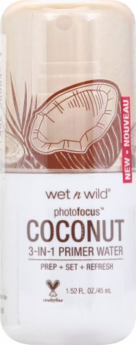 Wet n Wild Photo Focus 3-in-1 In Love With Coco Coconut Primer Water Perspective: front