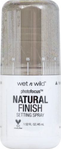 Wet n Wild Photofocus Natural Finish Setting Spray Perspective: front