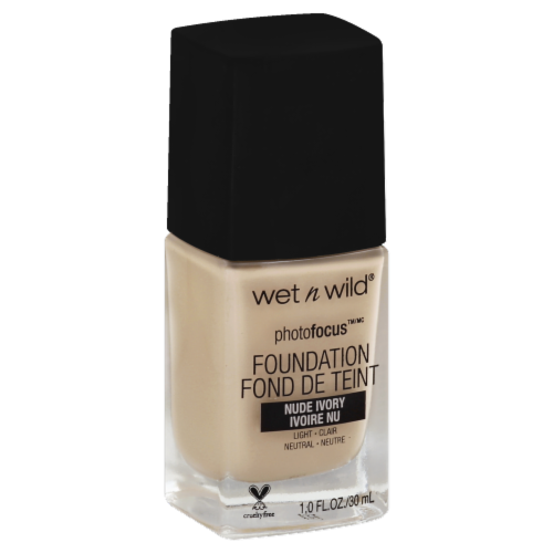 Wet n Wild Photo Focus Foundation - Nude Ivory Perspective: front