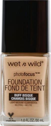 Wet n Wild PhotoFocus Buff Bisque Liquid Foundation Perspective: front