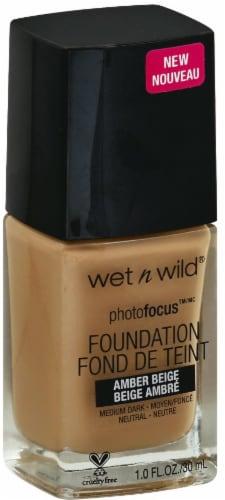 Wet n Wild Photo Focus Foundation - Amber Beige Perspective: front