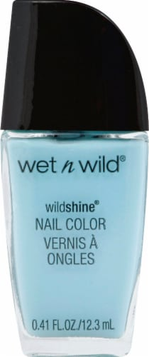 Wet n Wild Wild Shine Putting on Airs Nail Polish Perspective: front