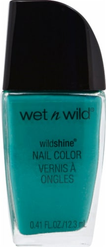 Wet n Wild Wild Shine Be More Pacific Nail Polish Perspective: front