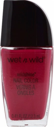 Wet n Wild Wild Shine Grape Minds Think Alike Nail Polish Perspective: front