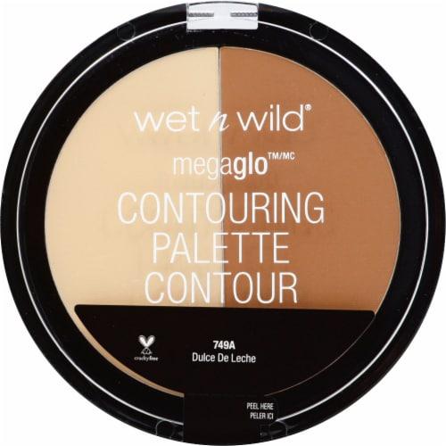 Wet n Wild MegaGlo Dulce De Leche Contouring Palette Perspective: front