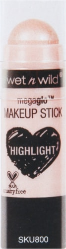 Wet n Wild Megaglo Highlight Makeup Stick When the Nude Strikes Perspective: front