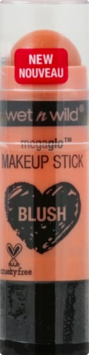 Wet n Wild Megaglo Blush Makeup Stick Hustle & Glow Perspective: front