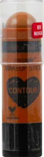 Wet n Wild Megaglo Contour Makeup Stick Oak's on You Perspective: front
