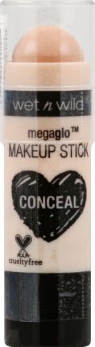 Wet n Wild Megaglo Conceal Makeup Stick Nude for Thought Perspective: front