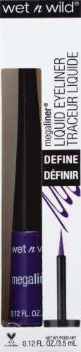 Wet n Wild Megaliner Electric Purple Liquid Eye Liner Perspective: front