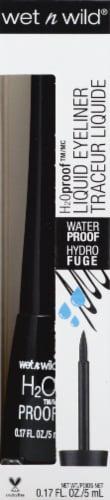 Wet n Wild 879 Black Noir H2O Proof Liquid Eye Liner Perspective: front