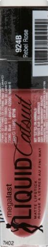 Wet n Wild Mega Last Liquid Catsuit Matte Lipstick Rebel Rose Perspective: front
