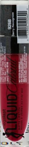 Wet n Wild Mega Last Liquid Catsuit Matte Lipstick Berry Recognize Perspective: front