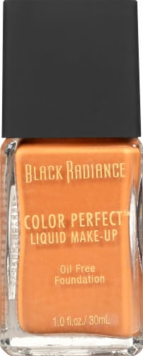 Black Radiance Color Perfect Rum Spice Liquid Foundation Perspective: front