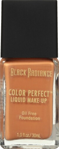 Black Radiance Color Perfect Brownie Liquid Foundation Perspective: front