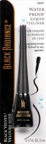 Black Radiance Black Velvet Waterproof Liquid Eyeliner Perspective: front