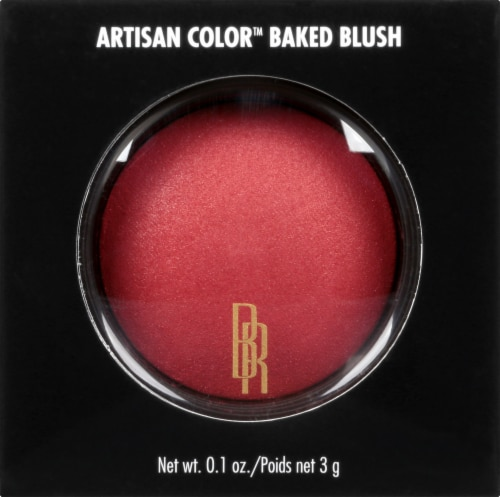 Black Radiance Artisan Color Warm Berry Baked Blush Perspective: front