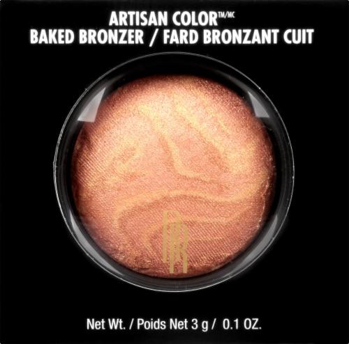 Black Radiance Artisan Color Gingersnap Baked Bronzer Perspective: front