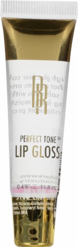 Black Radiance Perfect Tone Clear Shine Lip Gloss Perspective: front