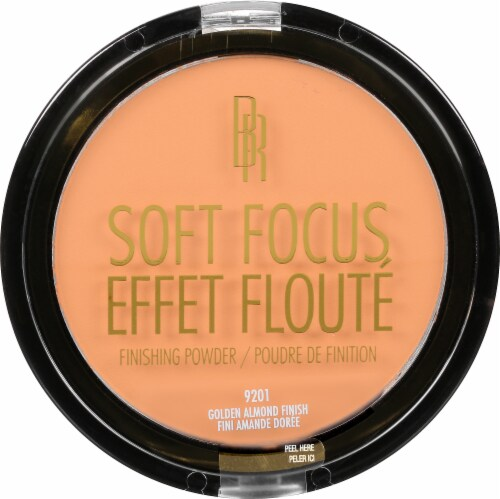 Black Radiance True Complexion Soft Focus Finishing Gold Almond Powder Perspective: front